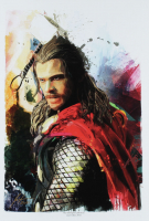 """Jason Oakes - """"Thor"""" Signed Marvel Avengers Collection 13"""" x 19"""" Lithograph (PA COA) at PristineAuction.com"""