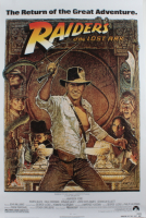 """""""Raiders of the Lost Ark"""" 27x40 Poster at PristineAuction.com"""