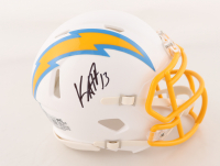 Keenan Allen Signed Chargers Speed Mini Helmet (Beckett Hologram) at PristineAuction.com