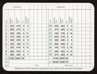 Jack Nicklaus Signed Augusta National Scorebook (JSA COA) at PristineAuction.com