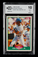 Ken Griffey Jr. 1989 Score Rookie / Traded #100T RC (BCCG 10) at PristineAuction.com