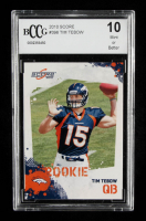 Tim Tebow 2010 Score #396 RC (BCCG 10) at PristineAuction.com