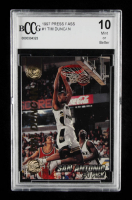 Tim Duncan 1997 Press Pass Double Threat #1 (BCCG 10) at PristineAuction.com