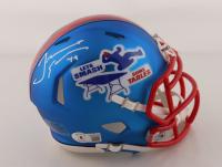 Tremaine Edmunds Signed Bills Speed Mini Helmet (Beckett Hologram) at PristineAuction.com
