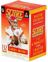 2021 Score Football Blaster Box with (132) Cards at PristineAuction.com