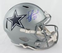 Jay Novacek Signed Cowboys Full-Size Speed Helmet (JSA COA) at PristineAuction.com