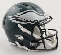 LeSean McCoy Signed Eagles Full-Size Speed Helmet (JSA COA) at PristineAuction.com