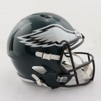 LeSean McCoy Signed Eagles Full-Size Speed Helmet (JSA COA) (See Description) at PristineAuction.com
