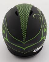 DK Metcalf Signed Seahawks Eclipse Alternate Speed Mini-Helmet (Beckett COA) at PristineAuction.com