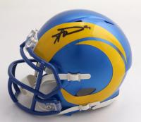 Aaron Donald Signed Rams Speed Mini-Helmet (JSA COA) at PristineAuction.com