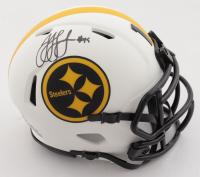 JuJu Smith-Schuster Signed Steelers Lunar Eclipse Alternate Speed Mini-Helmet (Beckett Hologram) at PristineAuction.com