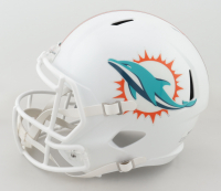 Tua Tagovailoa Signed Dolphins Full-Size Speed Helmet (Fanatics Hologram) (See Description) at PristineAuction.com