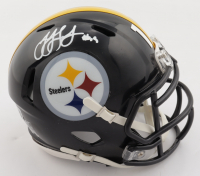 JuJu Smith-Schuster Signed Steelers Speed Mini-Helmet (Beckett Hologram) at PristineAuction.com