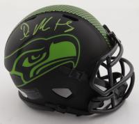 D.K. Metcalf Signed Seahawks Eclipse Alternate Speed Mini-Helmet (Beckett COA) at PristineAuction.com