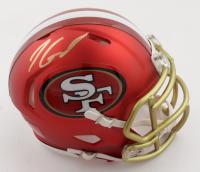 Jimmy Garoppolo Signed 49ers Blaze Alternate Speed Mini-Helmet (TriStar Hologram) at PristineAuction.com