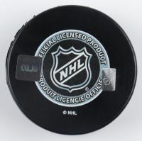 "Bobby Baun Signed Maple Leafs Logo Hockey Puck Inscribed ""S.C.C. 1962, 63, 64, 67"" (COJO COA) at PristineAuction.com"