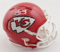 Sammy Watkins Signed Chiefs Speed Mini-Helmet (Beckett COA) at PristineAuction.com