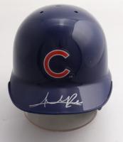 Addison Russell Signed Cubs Mini Batting Helmet (Fanatics Hologram) at PristineAuction.com