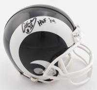 "Aeneas Williams Signed Rams Mini-Helmet Inscribed ""HOF 14"" (Beckett COA) at PristineAuction.com"