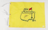 Jack Nicklaus Signed 2014 Masters Golf Pin Flag (JSA LOA) (See Description) at PristineAuction.com