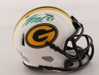 Jordy Nelson Signed Packers Lunar Eclipse Alternate Speed Mini Helmet (Beckett Hologram) at PristineAuction.com
