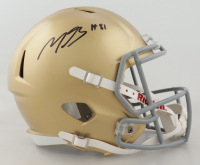 Miles Boykin Signed Notre Dame Fighting Irish Full-Size Speed Helmet (JSA Hologram) (See Description) at PristineAuction.com