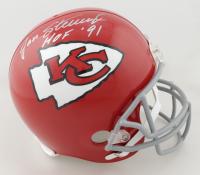 "Jan Stenerud Signed Chiefs Full-Size Helmet Inscribed ""HOF 91"" (Schwartz COA) (See Description) at PristineAuction.com"