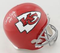 "Curley Culp Signed Chiefs Full-Size Helmet Inscribed ""HOF 13"" (Schwartz Hologram) (See Description) at PristineAuction.com"