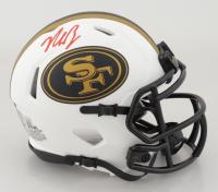 Nick Bosa Signed 49ers Lunar Eclipse Alternate Speed Mini-Helmet (Beckett Hologram) at PristineAuction.com