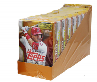 Case of (8) 2020 Topps Baseball Series 2 Hanger Boxes with (536) Cards at PristineAuction.com