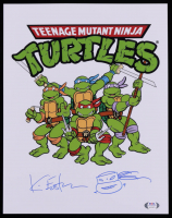 """Kevin Eastman Signed """"Teenage Mutant Ninja Turtles"""" 11x14 Photo with Hand-Drawn Sketch (PSA COA) at PristineAuction.com"""