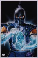 "Greg Horn Signed ""Mortal Kombat: Sub-Zero"" 11x17 Lithograph (JSA COA) (See Description) at PristineAuction.com"