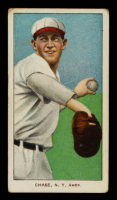 Hal Chase 1909-11 T206 Sweet Caporal 350/30 (Throwing-Dark Cap) at PristineAuction.com
