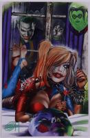 "Greg Horn Signed Marvel ""Harley Quinn: Knockin' Joker"" 11x17 Lithograph (JSA COA) at PristineAuction.com"