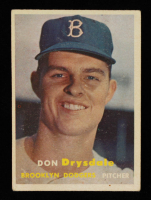 Don Drysdale 1957 Topps #18 RC at PristineAuction.com