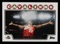 LeBron James 2008-09 Topps #23 at PristineAuction.com