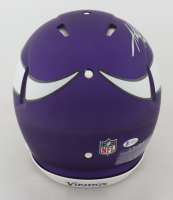 Adrian Peterson Signed Vikings Full-Size Authentic On-Field Speed Helmet (Beckett COA) at PristineAuction.com