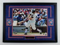 Ben Zobrist Signed Cubs 22.5x30.5 Custom Framed Photo Display (JSA COA) (See Description) at PristineAuction.com