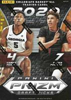 2020/21 Panini Prizm Draft Picks Basketball Blaster Box with (7) Packs at PristineAuction.com