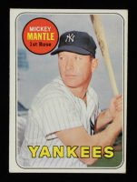 Mickey Mantle 1969 Topps #500 at PristineAuction.com