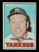 Mickey Mantle 1967 Topps #150 at PristineAuction.com