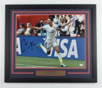Carli Lloyd Signed Team USA 22x26.5 Custom Framed Photo Display (JSA COA) (See Description) at PristineAuction.com
