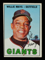 Willie Mays 1967 Topps #200 at PristineAuction.com