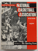 """1966-67 Official """"The Sporting News"""" NBA Guide & Record Paperback Book (See Description) at PristineAuction.com"""
