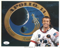 """Alan Shepard Signed Apollo 14 8x10 Photo Inscribed """"With Personal Regards"""" (JSA COA) at PristineAuction.com"""
