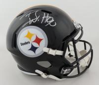 T.J. Watt Signed Steelers Full-Size Speed Helmet (Beckett COA) at PristineAuction.com