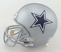 Tony Dorsett Signed Cowboys Full-Size Helmet with (5) Career Highlight Stat Inscriptions (JSA COA) at PristineAuction.com