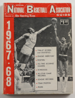 """1967-68 Official """"The Sporting News"""" NBA Guide & Record Paperback Book (See Description) at PristineAuction.com"""