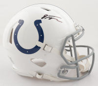 Jonathan Taylor Signed Colts Full-Size Authentic On-Field Speed Helmet (Fanatics Hologram) at PristineAuction.com