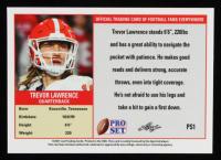Trevor Lawrence 2021 Leaf Pro Set #PS1A RC at PristineAuction.com